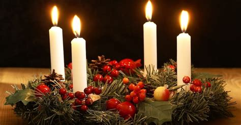 The Advent Wreath And Candles
