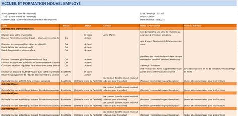 modèle plan de formation mod 232 les gratuits de ressources humaines pour excel