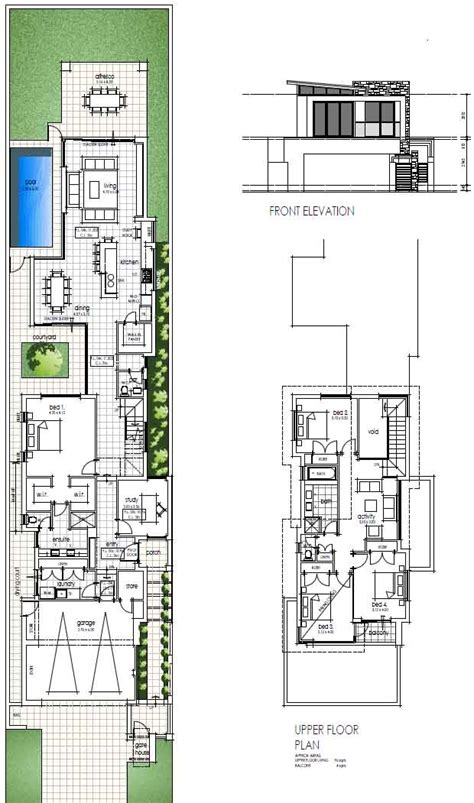 house plans narrow lot join buildyful com the global place for architecture