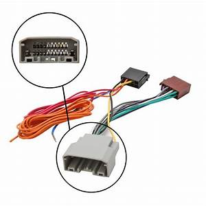 Car Stereo Radio Iso Wiring Harness Connector Adaptor
