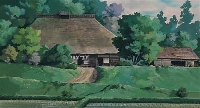 Totoro Neighbor Ghibli Studio Anime Scenery 1988