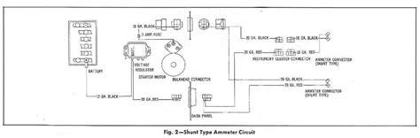 Ammeter Circuit Wiring Diagrams