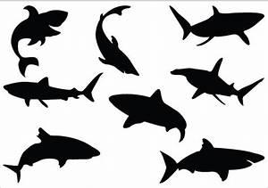 Shark Clipart Silhouette - ClipArt Best