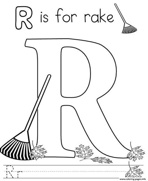 Coloring Rake by Rake Coloring Coloring Pages