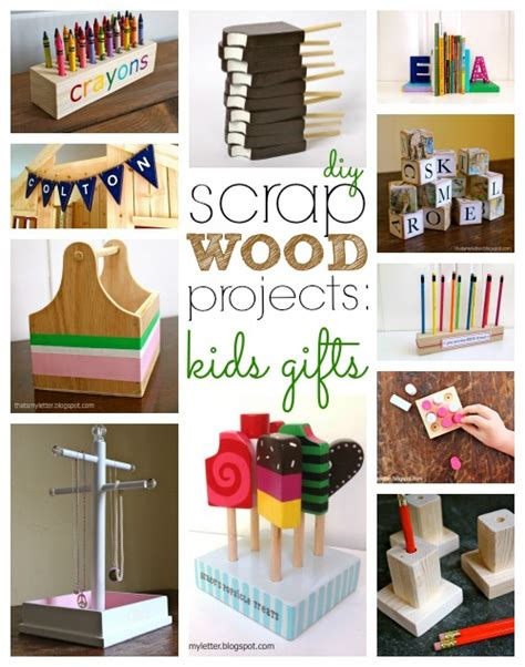 scrap wood projects kids gifts