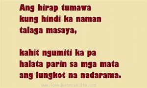 Hugot Quotes Ta... Tagalog English Quotes