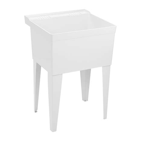 Fiat Laundry Tub by Fl1 Molded Laundry Tub With Legs Laundry Sink