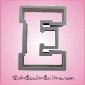 varsity letter e cookie cutter cheap cookie cutters With varsity letter cookie cutters