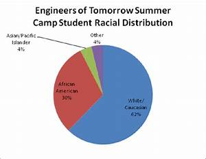 Graph of the Engineers of Tomorrow Summer Camp student ...