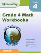 fourth grade math worksheets  printable  learning