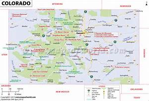 Map of Colorado | USA Maps | Pinterest | The o'jays ...