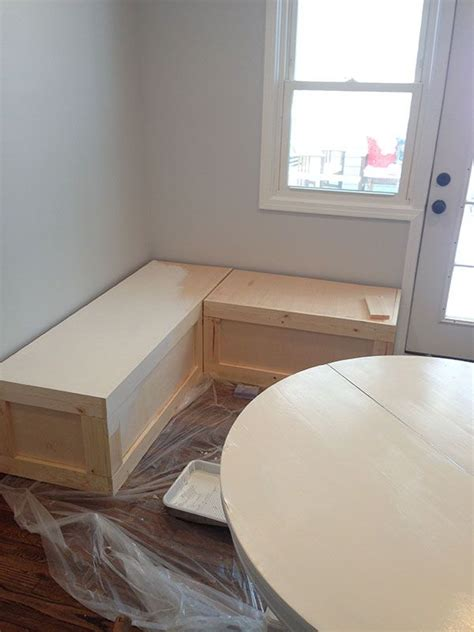 Diy Corner Bench  WoodWorking Projects & Plans