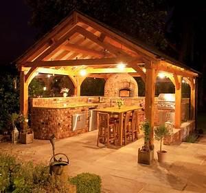 Outdoor kitchen lighting ideas interior exterior doors