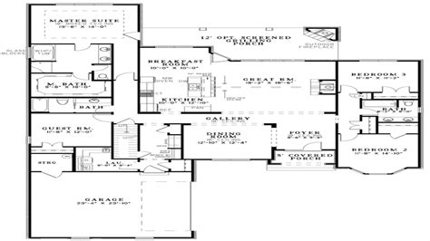 floor plans open kitchen  living room open floor plan