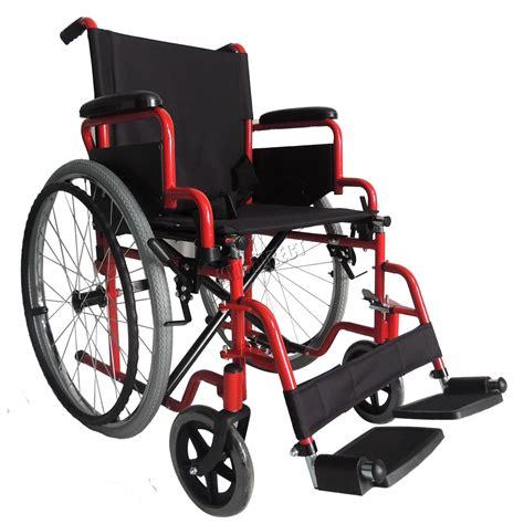 foxhunter automoteur pliant l 233 ger fauteuil roulant de transfert accoudoir ebay