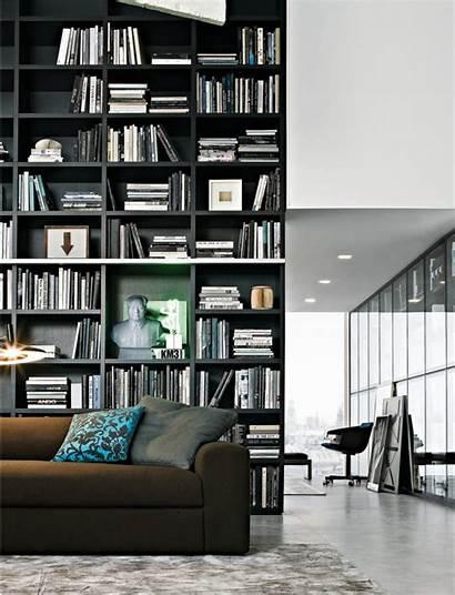 Wall System Poliform Bookcase Bookshelves Library Google
