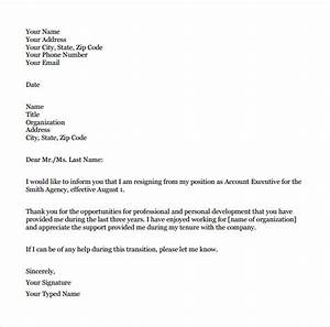 9 Teacher Resignation Letter Templates to Download Sample Templates
