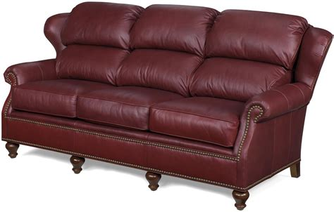 dark red leather sofa new leather sofa bustle back wing back wood dark red