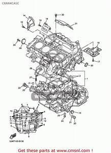 Yamaha Fjr1300 Fjr1300c 2003  3  Usa California Crankcase