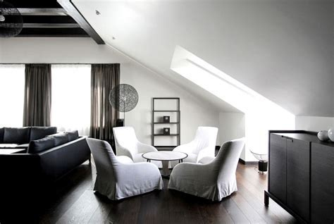 Penthouse Apartment Designed by Ramunas Manikas   InteriorZine