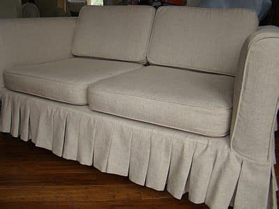 White Denim Slipcovers For Sofa by White Denim Sofa Slipcover Via Much To Do With Nothing