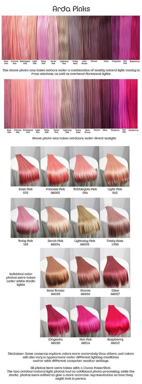 Pinks Hair Hair Hair Color Dyed Hair