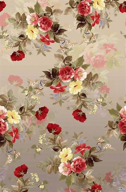 Floral Wallpapers Iphone Flower Fabric Victorian Flowers