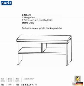 Sitzbank 90 Cm : puris speed sitzbank 90 cm breite impuls home ~ Whattoseeinmadrid.com Haus und Dekorationen