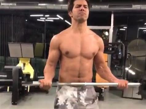 check   hot video  varun dhawan showing