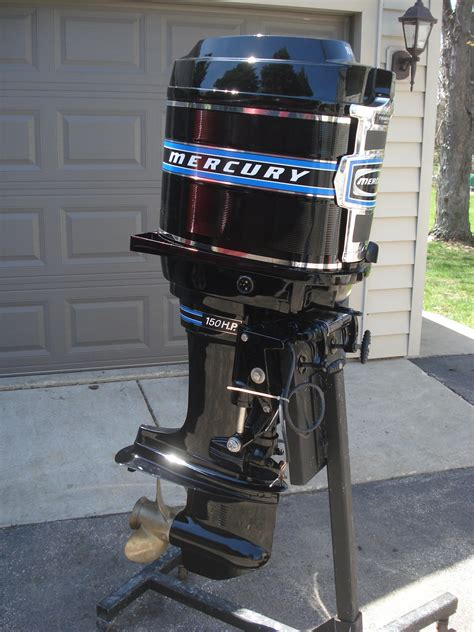 Mercury Outboard Motor Lineup by Vintage Outboard Motor And