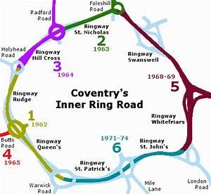 Post-war Coventry: Redevelopment Plan & Ring Road scheme