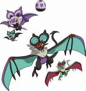 714 and 715 - Noibat Evolutionary Family by Tails19950 on ...