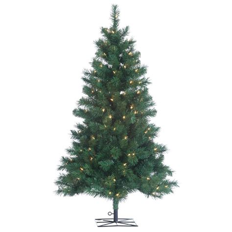 ge colorado spruce christmas tree light replacements sterling 4 ft indoor pre lit colorado spruce artificial tree with 150 ul lights 1484