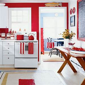 red kitchen walls with white cabinets facemasrecom With red and white kitchen cabinets