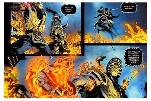 mortal kombat x baixar em quadrinhos 6