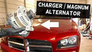 Dodge Charger Alternator Replacement Removal