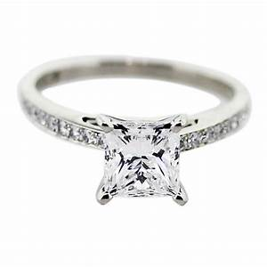 princess cut diamond engagement rings with white gold ipunya With wedding rings princess cut