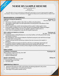 6 experienced nursing resume samples financial statement for Experienced nurse resume template