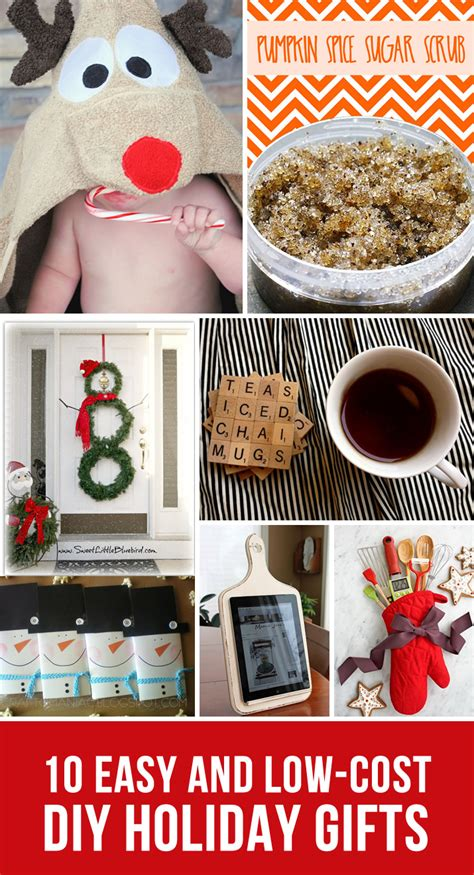 10 low cost diy holiday gift ideas