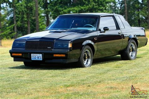 Grand National Car For Sale by 1987 Buick Grand National T Tops 18k Actual Milestime