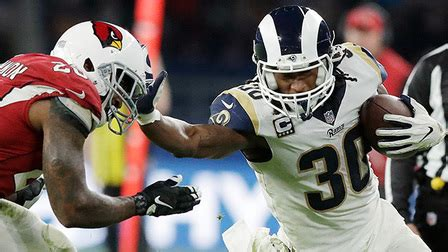 todd gurley shows  wicked stiff arm   yard pass