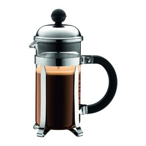 Bodum Chambord 3 cup French Press Coffee Maker in Chrome   Review