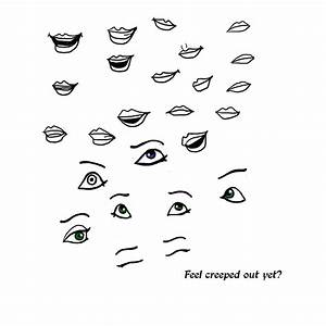 Disney Eye and Mouth Practise by Iova on DeviantArt