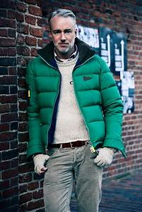 Jeans And Light Blue Shirt 25 Winter Puffer Jacket Outfits For Men Styleoholic