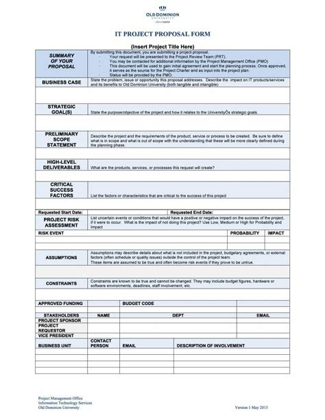 proposal template 43 professional project templates template lab