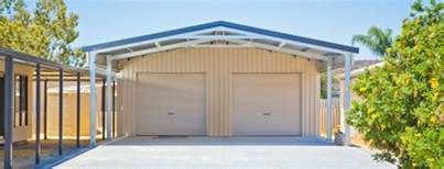 shed roof homes residential sheds garages wa qld nt aussie sheds