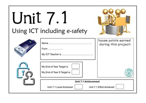 e safety ict lesson 8 year 7 funbook assessment by mrs
