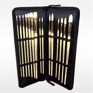 Pro Art Kitcase : pro arte brush case set hog ken bromley art supplies ~ Sanjose-hotels-ca.com Haus und Dekorationen