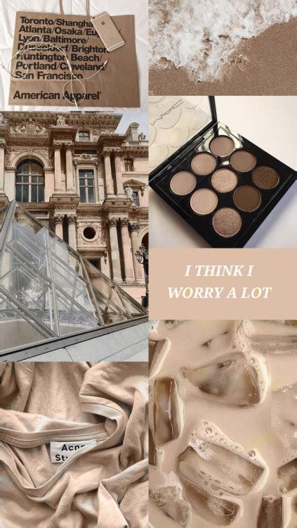 beige brown aesthetic tumblr