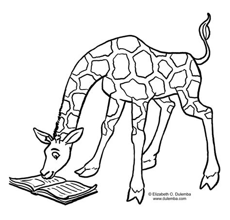 coloring pages  kids giraffe coloring pages  kids